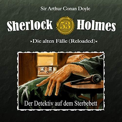 Page de couverture de Der Detektiv auf dem Sterbebett