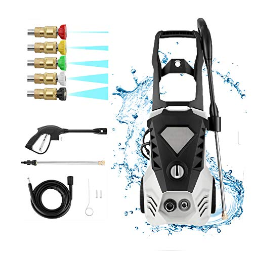 Read About ROOJER Electric Pressure Washer Max 3500 PSI 2.6 GPM High Pressure Power Washer Machine C...