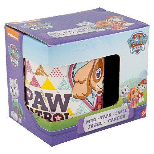 Tasse céramique 200 ml. Paw Patrol Girl Triangles