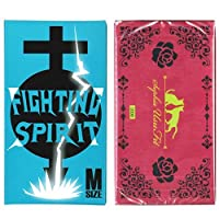 ソフィア うすフィット 1000 12個入 + FIGHTING SPIRIT (ファイティングスピリット) コンドーム Mサイズ 12個入