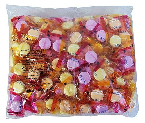 Sadex Traubenzucker Bonbons, 250 Stück in Einzelverpackung, 1er Pack (1 x 650g)