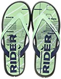 Rider Energy Plus IV AD, Chanclas Hombre, Black Blue Green, 44 EU