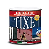 Tixe Brilltix Smalto a Solvente Anticorrosivo, Vernice, Ferromicaceo Antracite, 750 ml