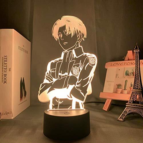 WWWL Luz de la noche lámpara de mesa de acrílico anime para el hogar decoración de la habitación luz fresca niño regalo noche luz 16colorwithremote