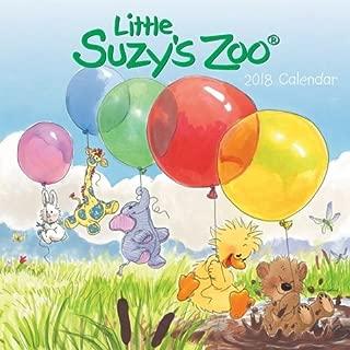 2018 Little Suzy's Zoo WALL Calendar