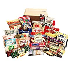 Korean Snacks Assortment Includes 33 Delicious and Nutritious Individually Packaged Single Serve Snacks for Anyone, Anytime, Anywhere! Packed With Top Brand Name Snacks. Something for Everyone to Enjoy! Ideal Care Package for Friends, Students, Loved...