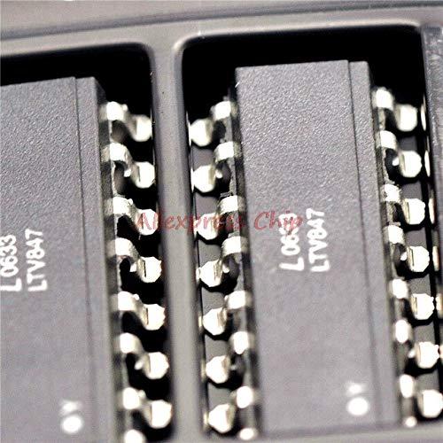 1 teile/los LTV847 optokoppler LTV847S SOP16 SMD paket original authentischen Auf Lager