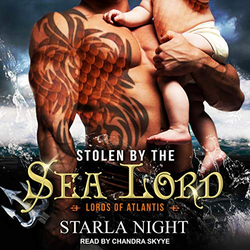Stolen by the Sea Lord audiobook cover art