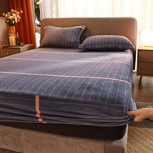 haiba Anti alergia Chinches Cama Impermeable Colchón Total Encasement Protector de la cubierta 180X200cm