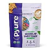 Pyure Organic Stevia Sweetener Blend, 2:1 Sugar Substitute, Granular All-Purpose, 1 Pound (16 Ounce)