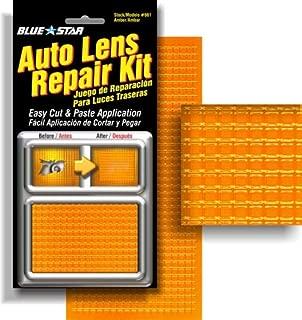 Blue Star Auto Blinker Turn Signal or Tail Light Lens Repair Kit, Amber / Orange Color
