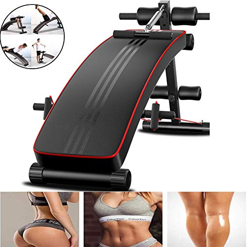 Fantastic Prices! SDJIEMN Profession Exercise Workout Bench Weight Bench Adjustable Gym Incline Decl...