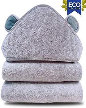 SWEET DOLPHIN Baby Hooded Bath Towel