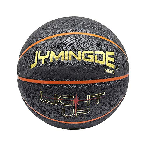 Review miniflower Light Up Basketball Glowing Basketball with LED High Bright Lights Durable Luminou...
