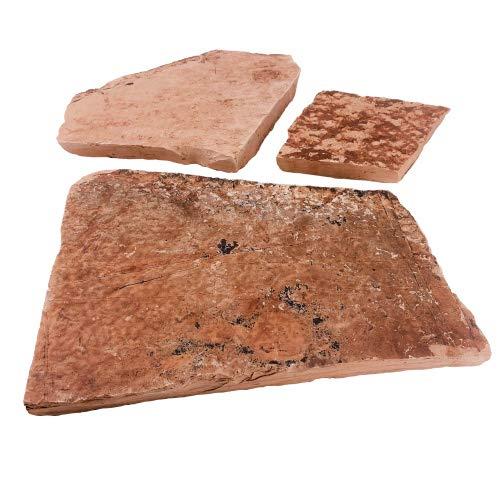 Heta Natursteine Polygonalplatte - Mediterrane Rot Stärke 3-4 cm