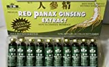 Royal King Red Panax Ginseng Extract 6000mg 10c.c./bottle X 30 (Pack of 4)
