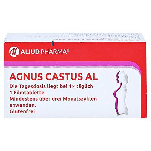 Agnus castus AL Filmtabletten bei Regelbeschwerden, 60 St. Tabletten
