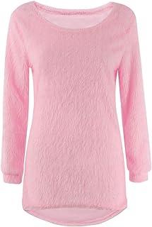 Jerséis Otoño Invierno Mujer O-Cuello del suéter Femenino de Cobertura Pullover suéteres Flojos Ocasionales sólidas