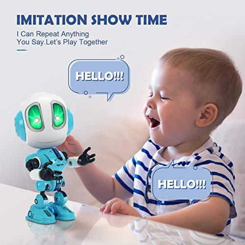Tesoky Spielzeug für Jungen 3 4 5 6 7 8 Jahre, Roboter Kinderspielzeug Geschenke Mädchen Jungen 3-8 Jahre Spielzeug ab 3-8 Jahren für Jungen Mädchen Kinderspielzeug ab -8 Jahre Blau - 4
