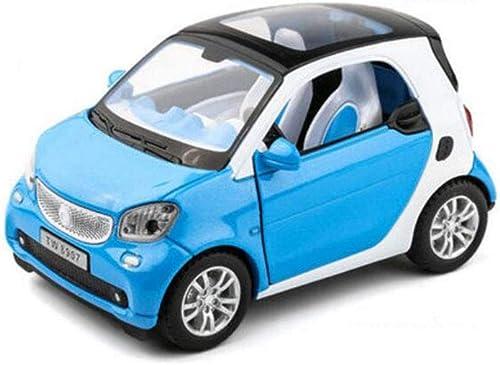 FH Junge Spielzeug Legierung Auto Sound Und Licht Zurückziehen Simulation Kind Auto Modell (Farbe   Sky Blau)
