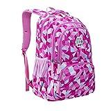 Dorical Rucksack Schultasche Junge Mädchen Teen Kinder große Schule Rucksack, Mehrfarbig Kinderrucksäcke Schulrucksäcke Schultasche Daypacks Backpack für Kinder Jugendliche