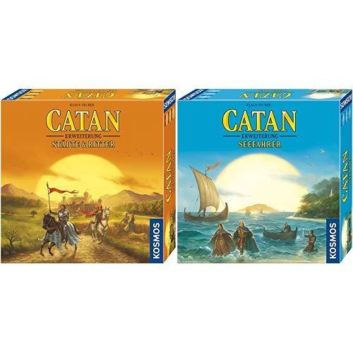 Kosmos - Catan - Städte & Ritter, neue Edition Strategiespiel &  - Catan - Seefahrer, neue Edition, Strategiespiel