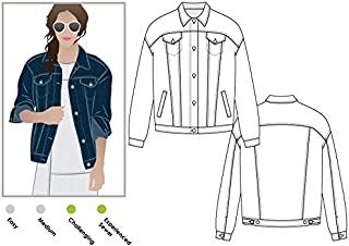 Style Arc Sewing Pattern - Stevie Jean Jacket (Sizes 04-16) - Click for Other Sizes Available