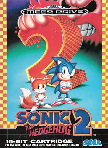 ELITEPRINT Póster Sonic The Hedgehog 2 Sega Mega Drive Classics Retro A3 sobre 250 g/m² Material de impresión de Nintendo Arcade Games