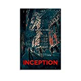 ASDFX Inception Poster, dekoratives Gemälde, Leinwand,