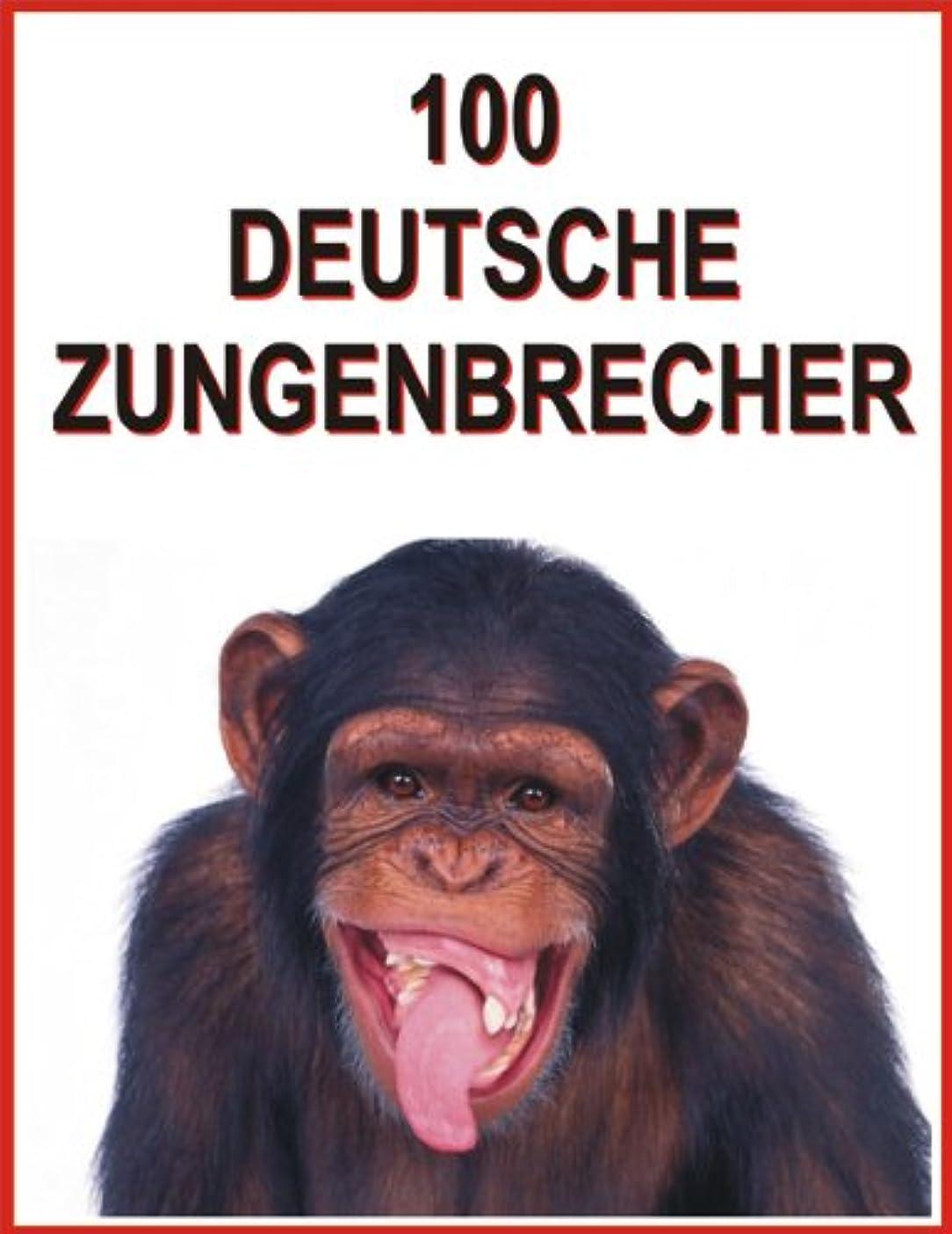 噴水ノート自己100 Deutsche Zungenbrecher (German Edition)