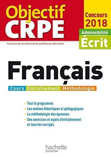 Objectif CRPE Français - 2018