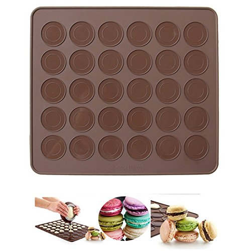 Bazaar Siliconen Back Macarons Mat Cake koekjes Chocolade gevormd Mould