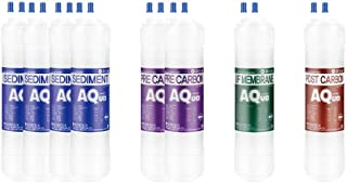 8EA Filtre à eau de rechange économique 1 an pour SK Magic : WPU-3205C/WPU-3205F/WPU-3302F - 10 microns