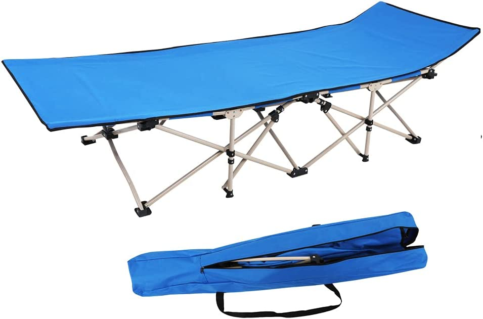 Outdoor Oxford New product! New type Sturdy Folding Sleeping Award Cots Use Bed Travel Home