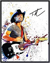 Tim McGraw Unframed Wall Art Print - Great Gift for Music, Rock n Roll and Country Music - Cool Home Decor - Ready to Frame (8x10) Vintage Photo