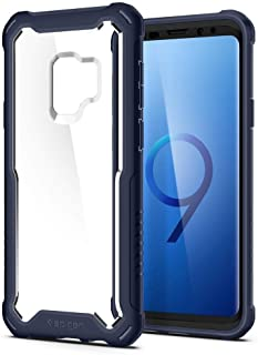 Spigen Hybrid 360 Galaxy S9 Case with 360 Full Body Coverage Protection with Tempered Glass Screen Protector for Samsung G...