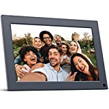 Faminode 10.1 Inch WiFi Digital Picture Frame, Magnetic Stand, IPS Touch Screen HD Display, 16GB Storage, Motion Sensor, Auto-Rotate, Share Photos and Video via App, Email, FTP, USB (Smart 10)