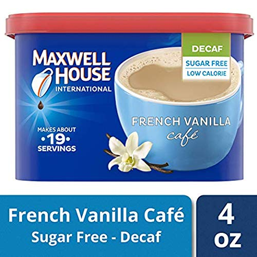 Maxwell House International Cafe Instant French Vanilla Coffee (4 oz...