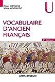 Vocabulaire d'ancien français - 3e éd. (Linguistique) - Format Kindle - 9782200615680 - 18,99 €