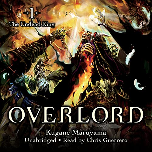 Overlord, Vol. 1 (Light Novel): The Undead King cover art