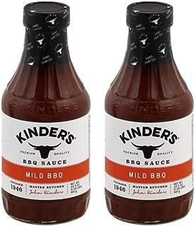 Kinder's Organic Mild BBQ Sauce 30 oz Pack of 2