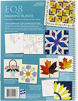 Electric Quilt Exercises in EQ8 Block Design-Sprial Bound Full Color