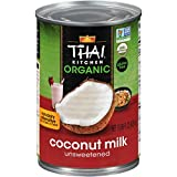 Thai Kitchen Organic Coconut Milk, Gluten Free, 13.66 oz (Pack of 12)