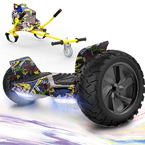 GeekMe Hoverboards mit Hoverkart,Off Road...