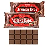 Milk Chocolate Almond Bark Coating, Candy Coating, Microwaveable Almond Coating For Baking,...