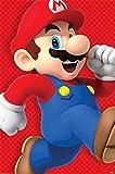 Nintendo - Super Mario Run - Videospiel Poster Druck -