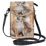 iRoad Mini sac à main Shiba Inu avec bandoulière pour chiot