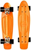 Ridge 22' Organics Range Skateboard, Dunkles Gelb/Schwarz, Zoll
