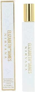 Elizabeth and James Nirvana White For Her Eau de Parfum Rollerball, 0.34 Ounce
