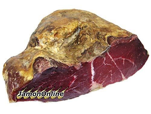 Cecina de Vaca Ahumada. Trozo de 3 Kg. - JamonOnline - - Incluye Cuchillo Jamonero de 22cm para Cortarla